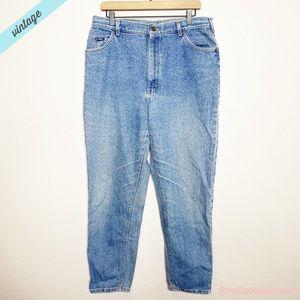 [Lee] VTG 90s High Waisted Taper Leg Mom Jeans
